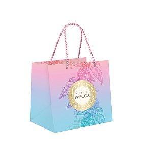 Sacola Premium p Caixa Meio Ovo de 250g a 350g Ombre Degrade - 01 un - Cromus Páscoa - Rizzo