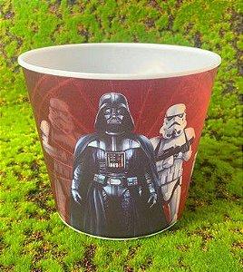 Balde Pipoca de Plástico 3D Festa Star Wars 1L - 1 Unidade - Regina - Rizzo