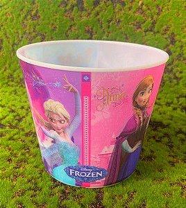 Balde Pipoca de Plástico 3D Festa Frozen 1L - 1 Unidade - Regina - Rizzo