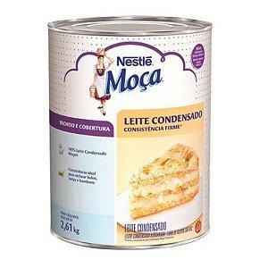 Leite Condensado Consistência Firme Moça 2,6kg - Nestlé - Rizzo Confeitaria