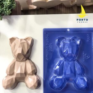 Forma Especial Urso 3D Geométrico Ref. 1202 Porto Formas Rizzo Confeitaria
