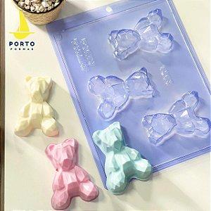 Forma Especial Urso 3D Geométrico Baby Ref. 1203 Porto Formas Rizzo Confeitaria
