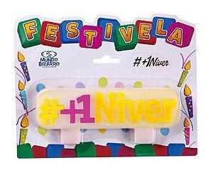Vela #+1Niver - Mundo Bizarro