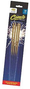 Vela Sparkles 15cm - 4 unidades - Mundo Bizarro