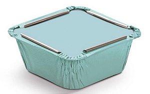 Marmitinha Liso Azul P 5,5x5,5x3cm - 12 unidades - Cromus - Rizzo