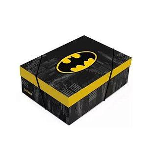 Caixa Retangular com Tampa Batman - 01 unidade - Rizzo
