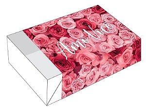 Caixa Divertida Rosas Amo Você Ref. 2279 - 6 doces com 10 un. Erika Melkot Rizzo Confeitaria