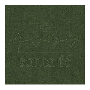 Feltro Liso 1 X 1,4 mt - Verde Oliva 052 - Santa Fé - Rizzo