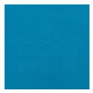 Feltro Liso 30 X 70 cm - Azul Turqueza 028 - Santa Fé - Rizzo