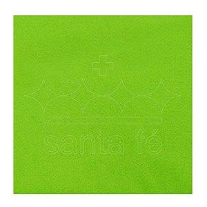 Feltro Liso 30 X 70 cm - Verde Citrico 002 - Santa Fé - Rizzo