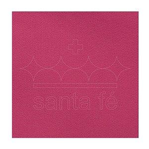Feltro Liso 30 X 70 cm - Pink 016 - Santa Fé - Rizzo