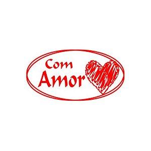 Etiqueta Adesiva Com Amor com 100 un. Rizzo