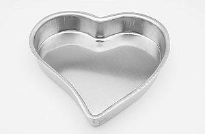 Forma Coração Estampado 25x5cm - 01 unidade - Caparroz - Rizzo Confeitaria