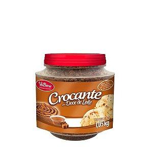 Crocante Sabor Doce de Leite 1,05Kg - Vabene - Rizzo Confeitaria