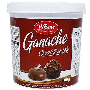 Ganache Sabor Chocolate Ao Leite 1,01Kg - Vabene - Rizzo Confeitaria