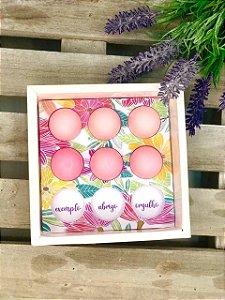 Berço para Trufas Dia das Mães Floral - 1un - Rizzo Confeitaria