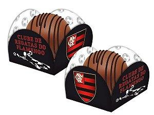 Porta Forminha para Doces Festa Flamengo - 40 unidades - Festcolor - Rizzo