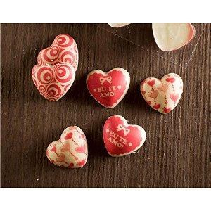 Blister Decorado Coração Eu Te Amo BL0016 03 Stalden Rizzo Confeitaria