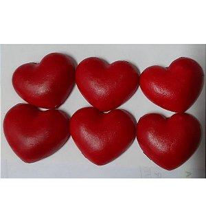 Coração Grande 6un - Jeni Joni- Rizzo Confeitaria