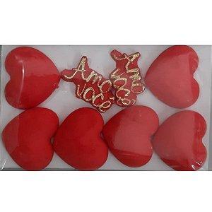 Coração Grande Amo Você - Jeni Joni- Rizzo Confeitaria