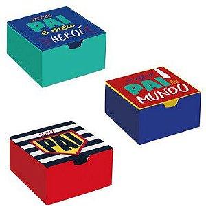 Caixa Divertida Super Pai Sortido - 10 unidades - Cromus - Rizzo