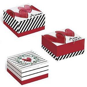 Caixa Divertida Lover Sortido - 10 unidades - Cromus - Rizzo