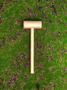 Martelinho Rústico 15cm - 01 unidade - Rizzo Confeitaria