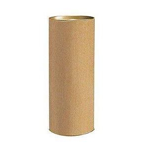 Lata para Presente GG 29,5x11,5cm Liso Kraft - 01 unidade - Rizzo
