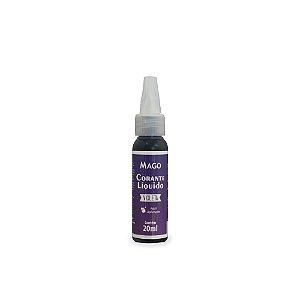 Corante Líquido Violeta 20 ml Mago Rizzo Confeitaria