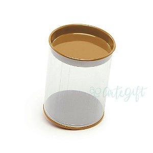 Tubo Lata Cobre - 8,5 x 6,3cm - 6un - Artegift - Rizzo