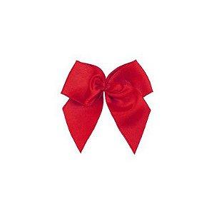 Laço Cetim Gordinho - Vermelho - 50 unidades - Rizzo