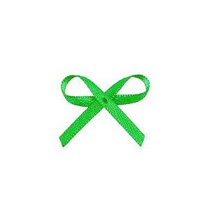 Laço Cetim Mosquitinho - Verde - 100 unidades - Rizzo