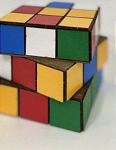 Cubo Mágico R25 - Decoração de MDF - 01 Unidade - Mara Móveis - Rizzo