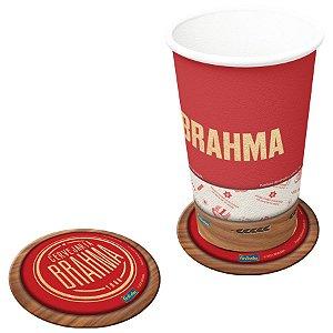 Porta Copos Festa Brahma - 08 unidades - Festcolor - Rizzo