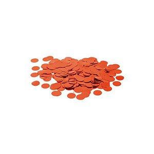 Confete Metalico Redondo para Balão Pacote com 100g - Vermelho - 01 Unidade - Cromus Balloons - Rizzo