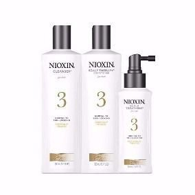 NIOXIN KIT ETAPA 3 (SHAMP 150ML + COND 150ML + TRAT 50ML)