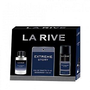 La Rive Kit Extreme Story EDT 75ML + Desodorante 150ML
