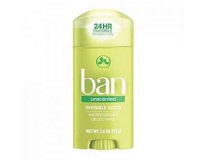 Ban Desodorante Sem Perfume 73g