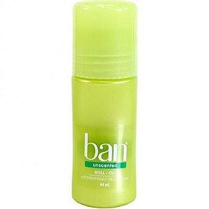 Ban Desodorante Roll On 44ml Sem Perfume
