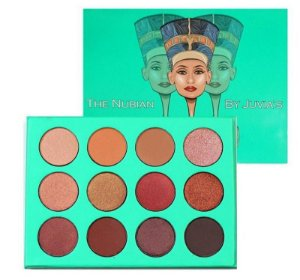 The Nubian By Juvias Paleta 12 COLORS