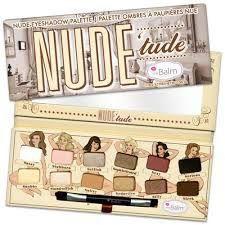 The Balm Paleta Nude Tude