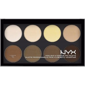 Nyx Paleta de Contorno Highlight 8 Cores