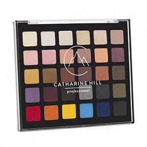 Catharine Hill Paleta de Sombra 30 Cores Colorida