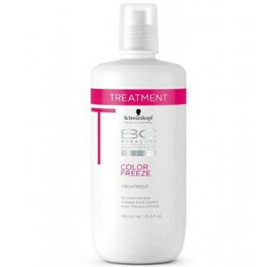 SCHWARZKOPF BC COLOR FREEZE TRATAMENTO 750ML