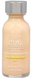 Loreal Base True Match W2 | Light Ivory