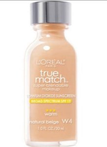 Loreal Base 1 Match W4 | Natural Beige