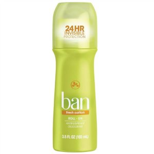 Ban Desodorante Roll On Fresh Cotton Laranja 103ml