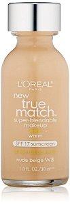 Loreal Base True Match W3 | Nude Beige