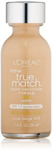 Loreal Base 1 Match W3 | Nude Beige
