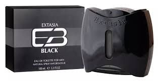 NEW BRAND EXTASIA BLACK MASC EDT 100ML
